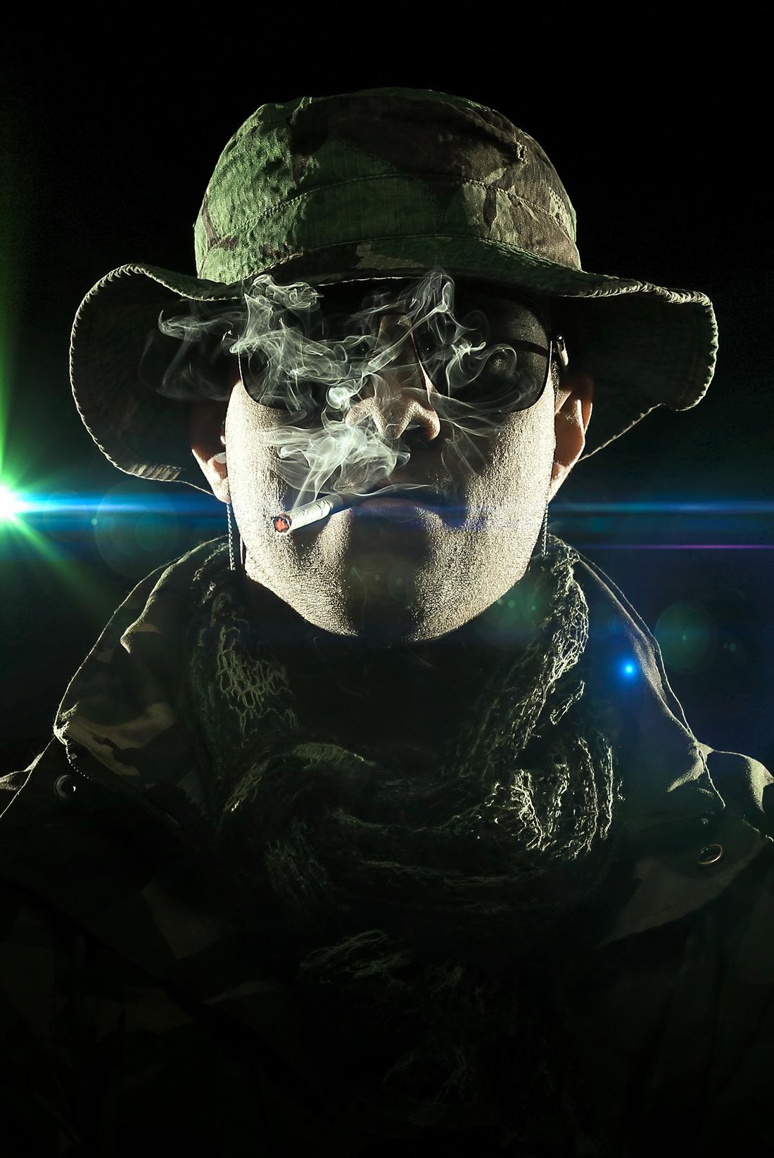 9332 Militar Fumar